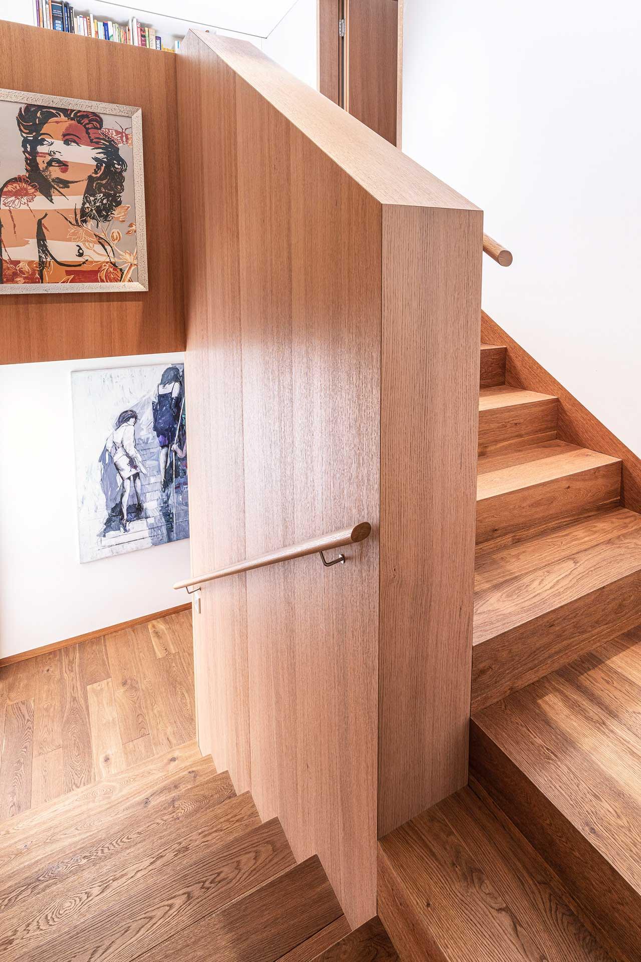 Holzstiege vom Tischler