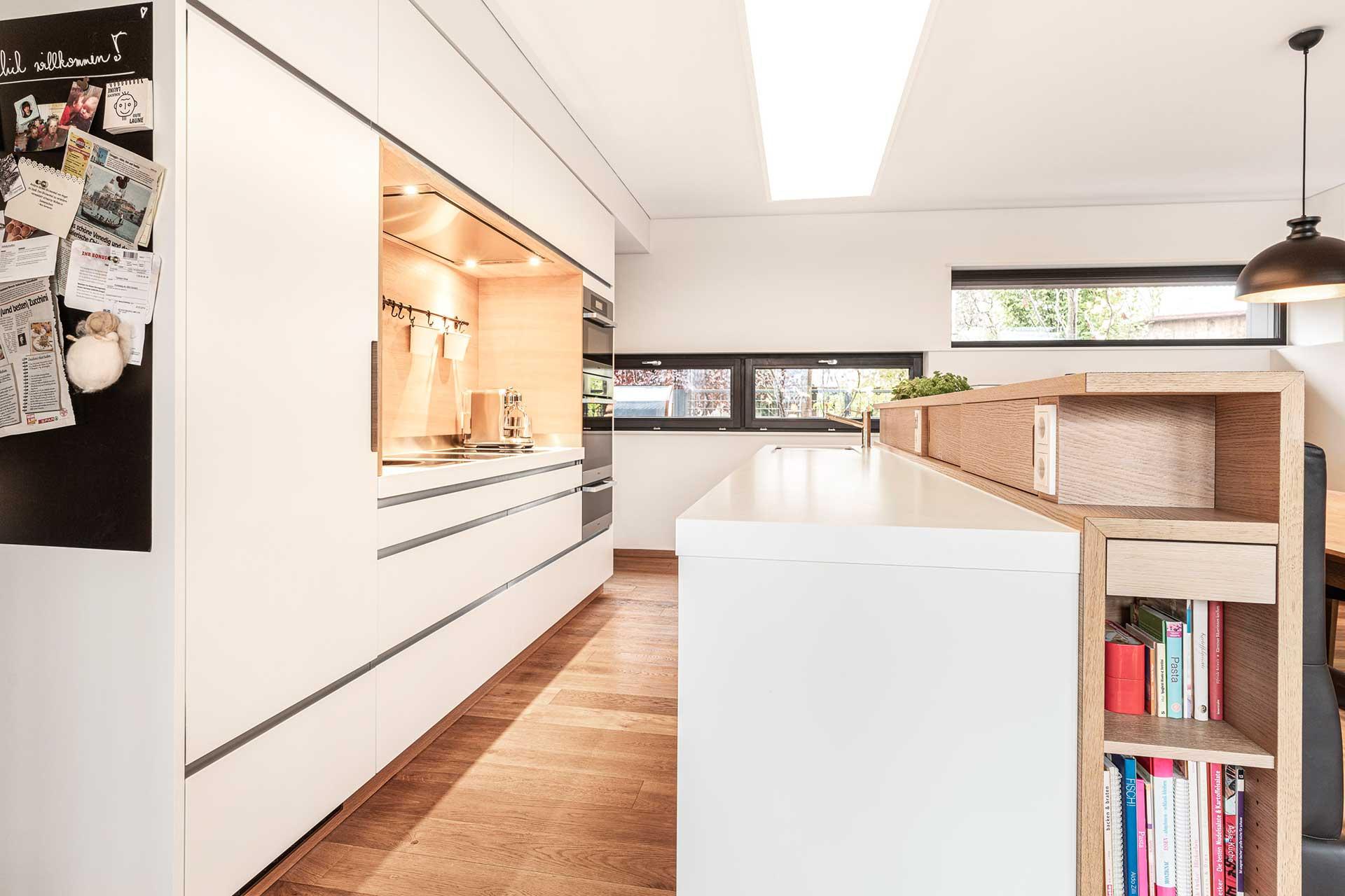 Moderne Küche vom Schreiner